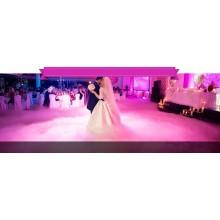 Супер дым на первый танец, на свадьбу в Одессе по низким ценам, дешево Одесса