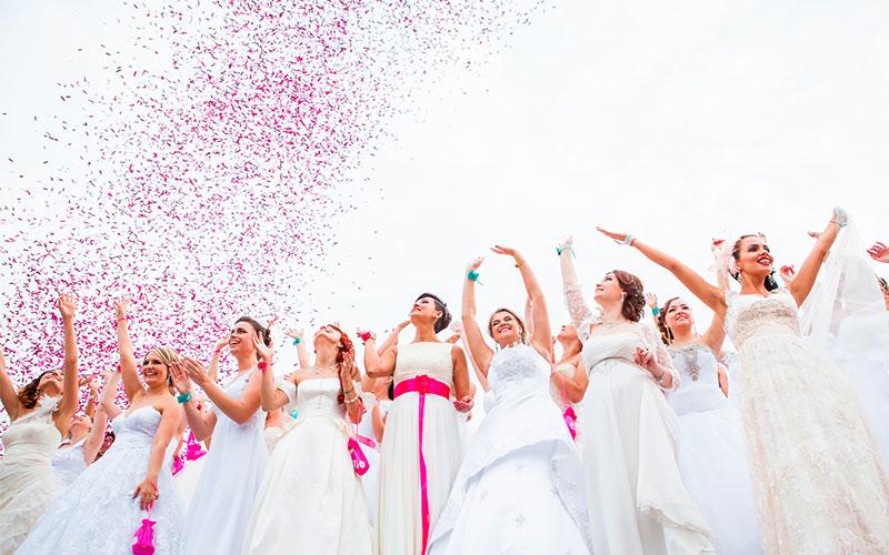 Конфетти на свадьбе. Одесса
